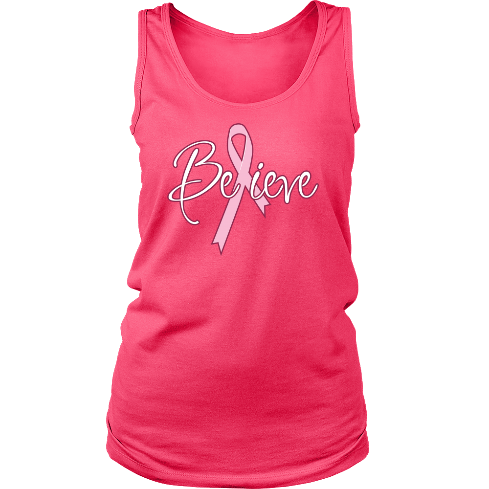 Believe - Breast Cancer Awareness tshirt / tank / tee 2017