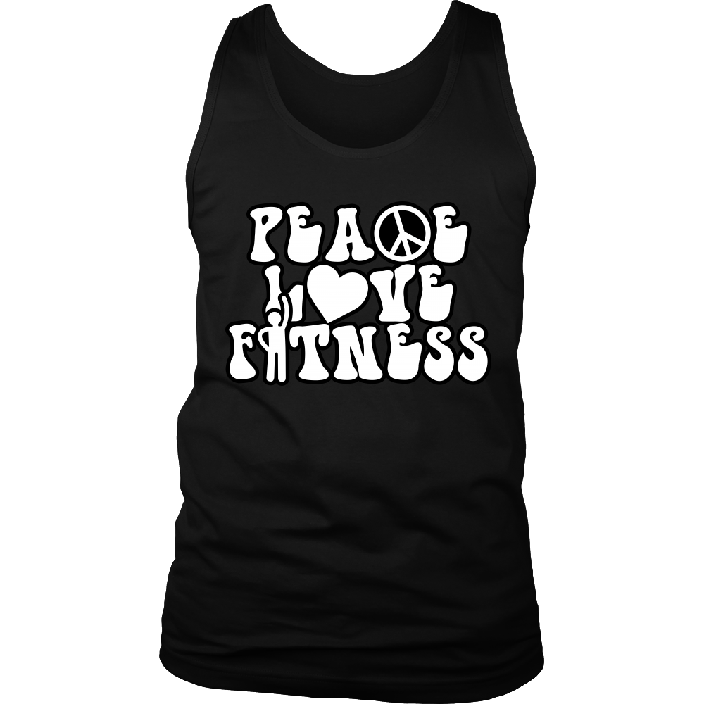 Peace Love & Fitness -