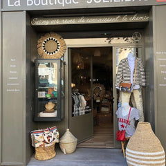 French shop interior with items supplied by Uma Cantik