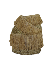 Load image into Gallery viewer, Lembar Raffia Basket - Set