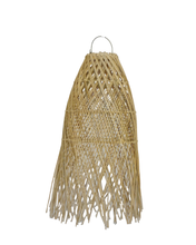 Load image into Gallery viewer, Wing Tail Rattan Lamp Shade Natural