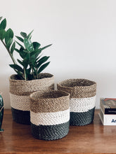 Load image into Gallery viewer, Asmara Basket Tricolor - S