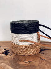 Load image into Gallery viewer, Kayu Rattan Bag - Black