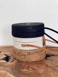 Kayu Rattan Bag - Black