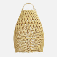 Load image into Gallery viewer, Ayana Rattan Lampshade Natural Cross - L