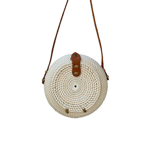 Kayu Bag Oval - White