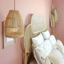 Load image into Gallery viewer, Ayana Rattan Lampshade Natural - S