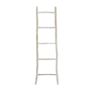 Kubu Ladder White - M