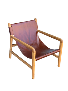 Lembata Leather Lounge Chair