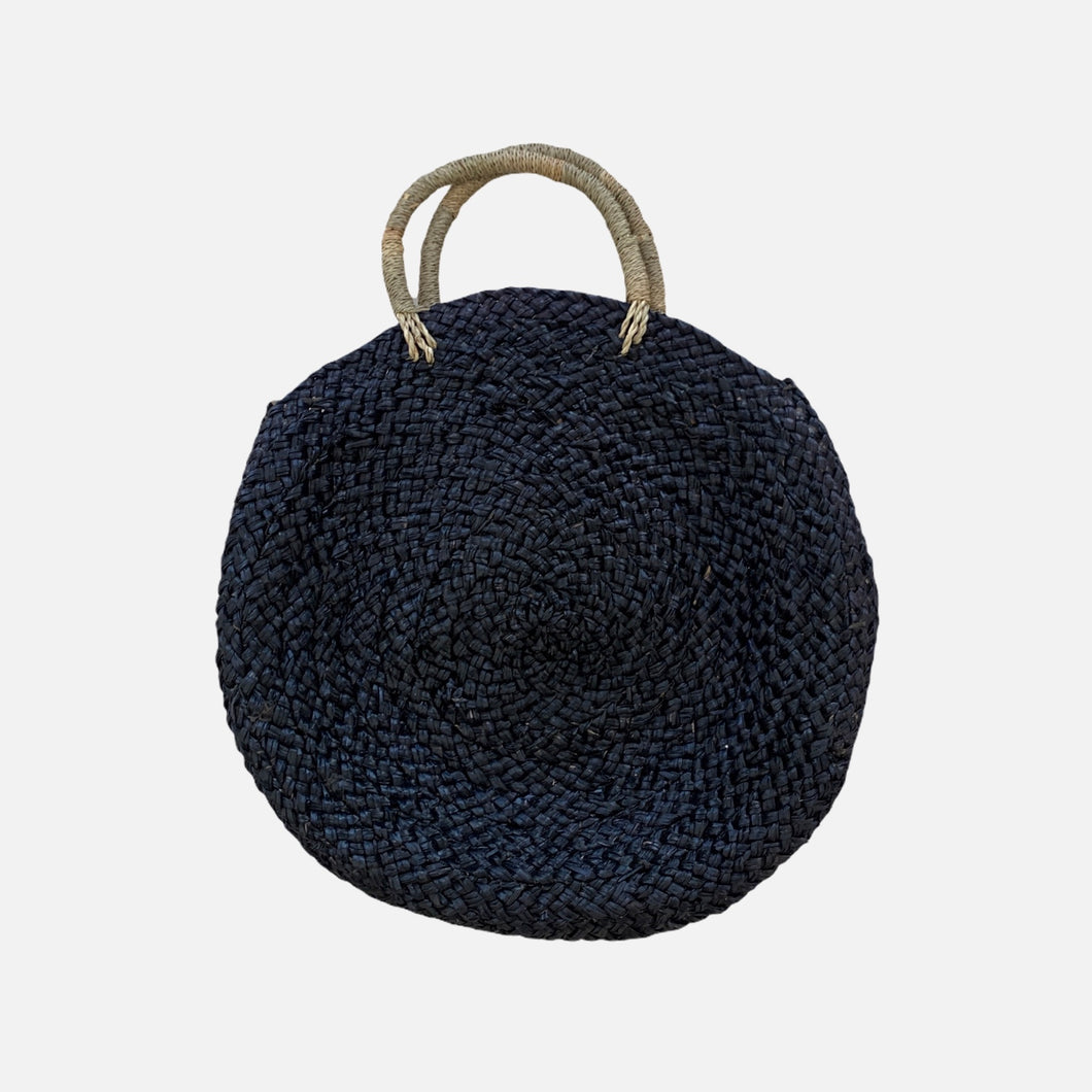 Milu Basket Bag - Dark Blue