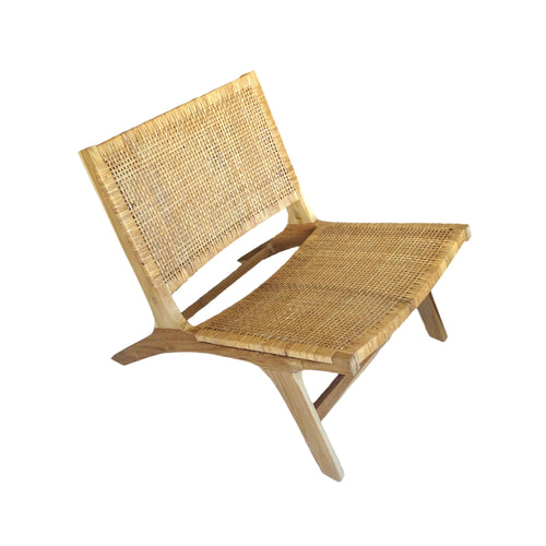 Pulau Wicker Lounge Chair