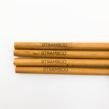 Load image into Gallery viewer, Bamboo Straws | Pack of 12 - Wood Colour