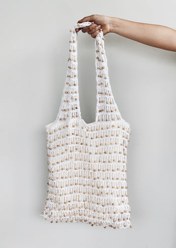 Sumba Tote Bag - White