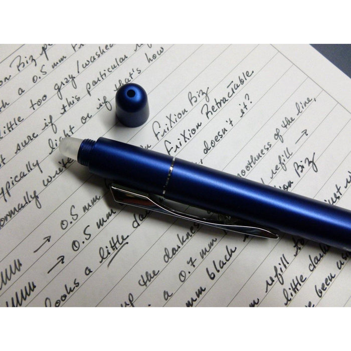 Pilot FriXion Ball LX Erasable, Retractable Gel Pen, Fine Point, 0.7mm, Blue Ink