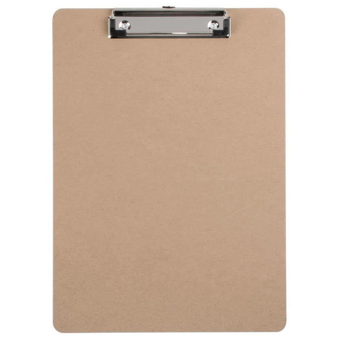 "The Supply Line 9"" x 12.5"" Clipboard with Metal Clip and Integrated Hanging Hook, Fits 8.5"" x 11"" and A4 Paper"