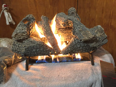 Fireplace Gas Burner & Logs Sets