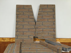 Fireplace Stove Refractory Liner Panels