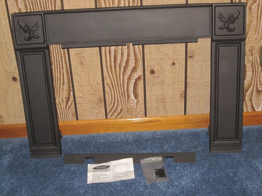 Vermont Casting Small Cast Iron Surround Montpelier Wood Stove ...