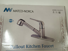 Matco-Norco Stainless Steel Pullout Kitchen Faucet Model # AE-2515