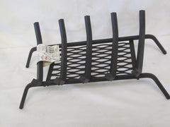 "Landmann Wood Fireplace 18"" Grate With Ember Retainer Black Model # 9718S-5"