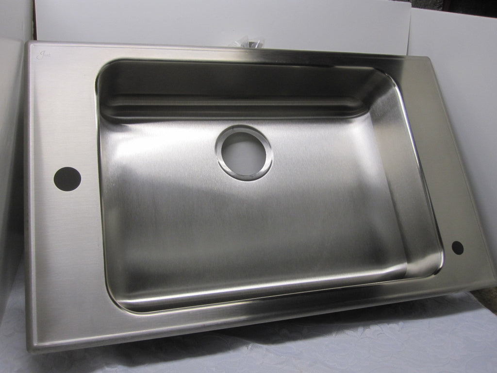 Just Stainless Steel 18 Ga. Self Rimming Class Room Sink CRA ADA 1931