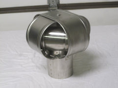 "Homesaver 4"" Wood Stove Stainless Steel Windbeater Chimney Cap Part # 14904"