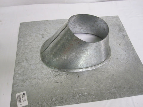 "American 4"" Double Wall  Pellet Stove  Roof Flashing To 5/12 Pitch Part # 4SF"