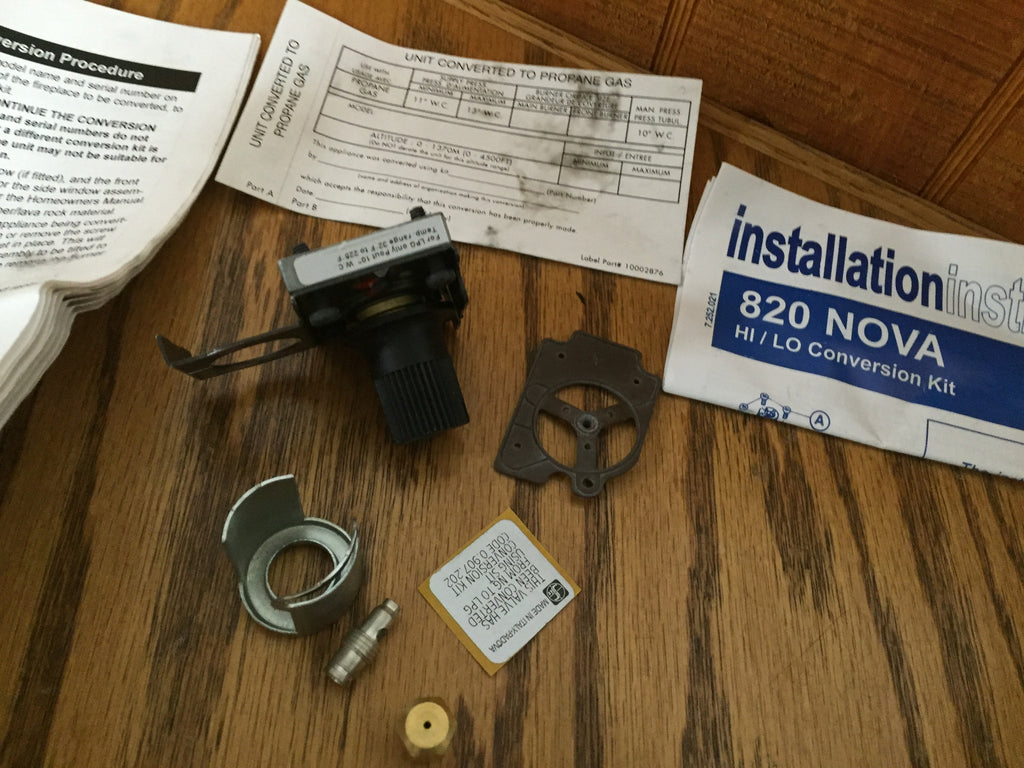 stepper gsr lp gas sit conversion kit from natural gas to propane