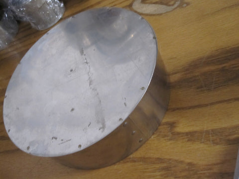 "8"" Single Wall Galvanized 8"" Tee Cover Cap Part # 915677"