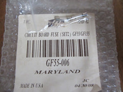 Greenfire Pellet Stove GF55/ Gf155 Circuit Board Fuse ( Set 2 ) Model GF55-006
