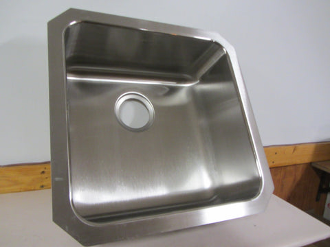 Elkay Lustertone Stainless Steel Single Basin Kitchen Sink Model ELUH1616