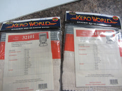2 Kero World Kerosene Heater Replacement Wick # 32101