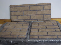 Travis 31 DVI Refractory Panel Set (2) Side Brick Or Herringbone Model 96100100