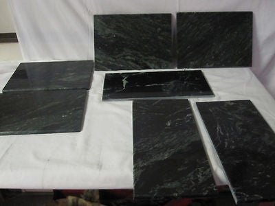 Hearth Stone Fireplace Stove Aztec Green Marble Set Part # 9050-63 Tribute DV