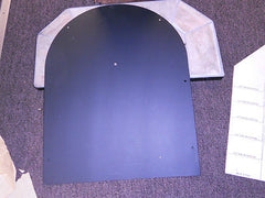 Hart & Colley Cathedral Ceiling Support Finish Plate Cut To Desired Pitch