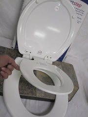 Bemis Next-Step elongated Adult & Child Toliet Seat Model # 1583 Slow 000 White