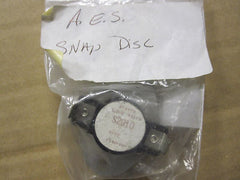 Pellet Stove Fireplace Snap Disc Part # S2010 .