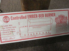 "Golden Balount  18"" Controlled Ember-Bed ECBB Burner"