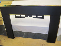 Majestic Vermont Casting Fireplace Pellet Stove Insert Surround Panel Black & Gold  Set Part # KT 2A50