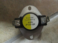 Pellet- Stove Fireplace Fan Control Switch T-O-D 60T12  .