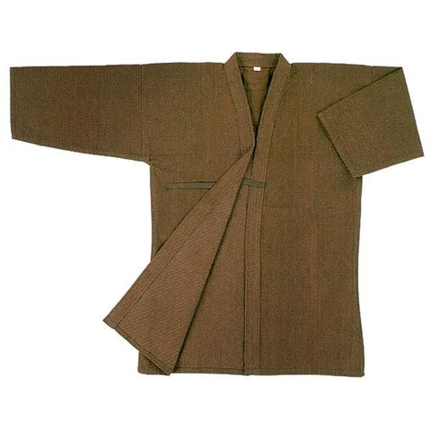 Persimmon-Dyed Cotton Kendo Gi front view