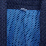 Synthetic inner lining close-up.