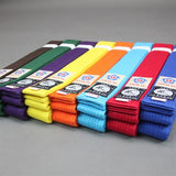 Color Aikido Obi Belt front view