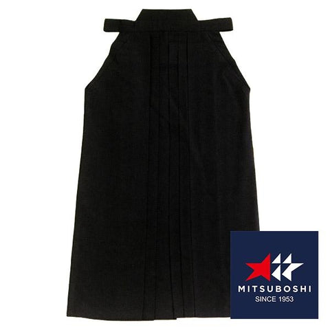 Black hakama, full-length front view.