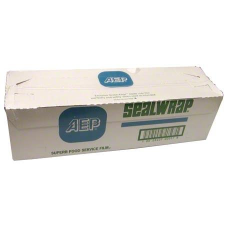 "AEP Industries Sealwrap Food Service Film, 12"" x 2000 Feet - 1 Roll per Case Consumables 1354"