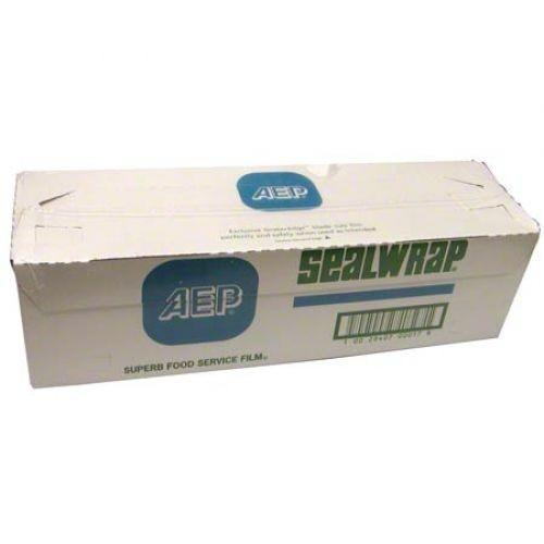 "AEP Industries Sealwrap Food Service Film, 18"" x 2000 Feet - 1 Roll per Case Disposables 1354"