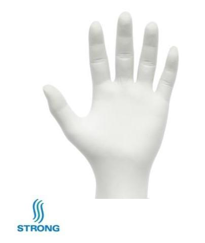 Strong Manufacturers Powder Free Latex Glove, Size Medium - 1000 per Case Disposables 1354