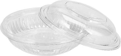 Dart PresentaBowl, 8 Ounce Clear Bowl w/ Dome Lid - 252 of Each per Case Consumables 1354