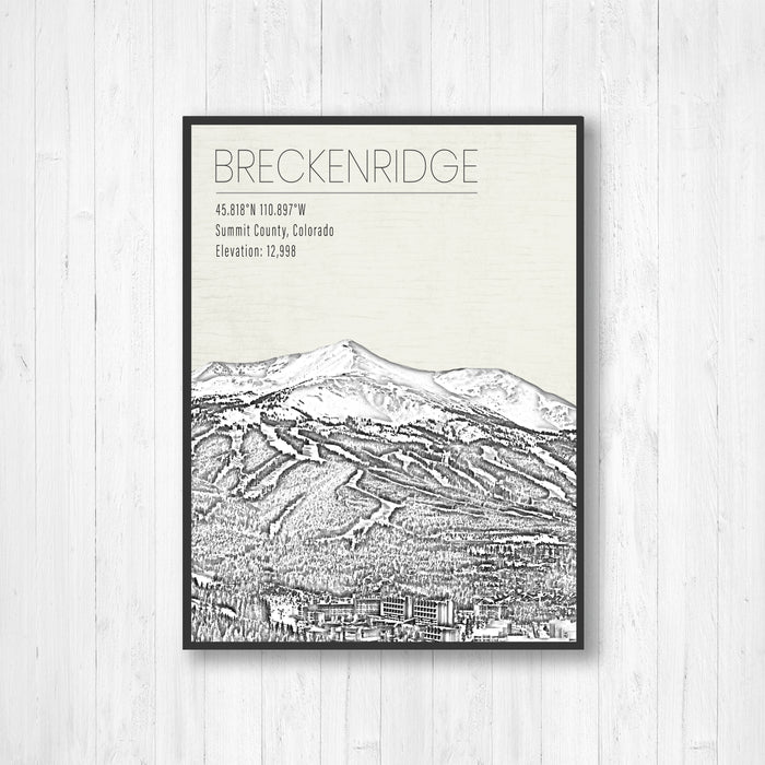Breckenridge Colorado Ski Resort Print