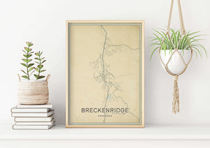 Breckenridge Colorado Map